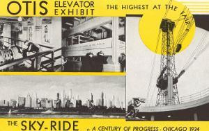 Elevator and Sky Ride, Chicago World's Fair