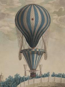 Elevazione Aereobatica Eseguita da Francesco Orlandi in Bologna, c.1828