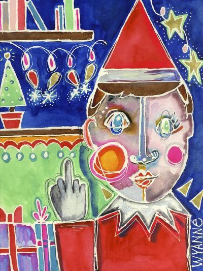 Elf the Shelf-Wyanne-Giclee Print