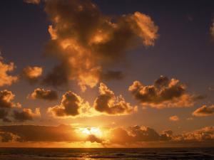 Sunrise at Poipu, Kauai, HI by Elfi Kluck