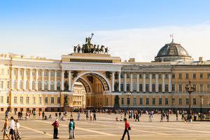General Staff Building, Saint-Petersburg by Elgreko