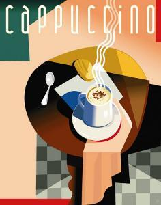 Cubist Cappuccino by Eli Adams