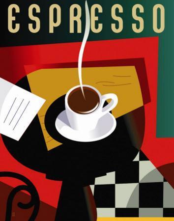 Cubist Espresso by Eli Adams