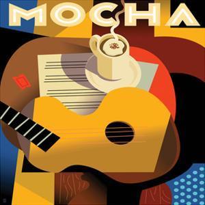 Cubist Mocha I by Eli Adams