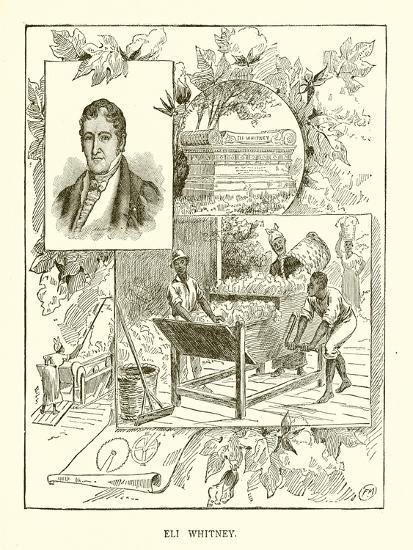 Eli Whitney--Giclee Print