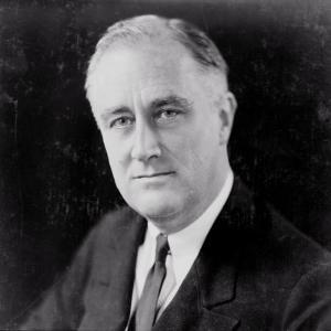 Franklin Delano Roosevelt, circa 1933 by Elias Goldensky