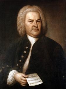 Johann Sebastian Bach (1685-175), German Composer and Organist, 1746 by Elias Gottlob Haussmann