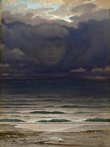 Memory, 1870 by Elihu Vedder