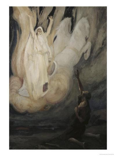 Elijah Ascends in a Chariot of Fire-James Tissot-Giclee Print