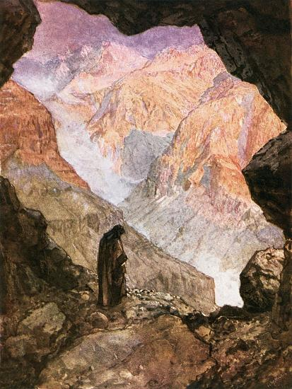 Elijah in the Desert of Horeb-William Brassey Hole-Giclee Print