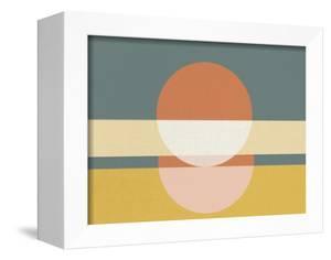 Geometric Sunrise I by Eline Isaksen