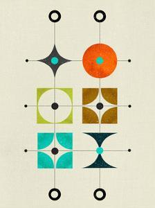 Mid Century Floating Cluster II by Eline Isaksen