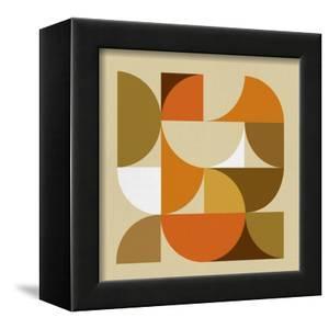 Mid Century Geometric Collage I by Eline Isaksen