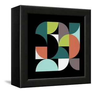 Mid Century Geometric Collage III by Eline Isaksen