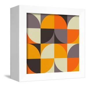 Mid Century Geometric Pattern IV by Eline Isaksen