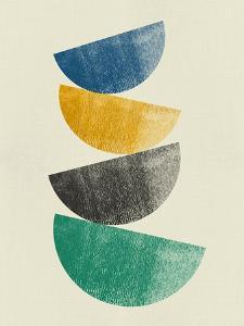 Mid Century Half Moons III by Eline Isaksen