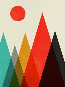 Mid Century Mountains by Eline Isaksen