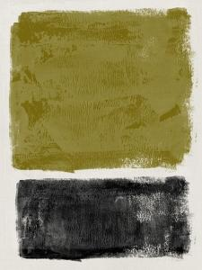 Mid Century Olive and Black Study by Eline Isaksen