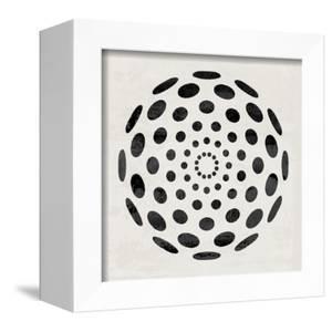 Minimalist Black Circular Pattern by Eline Isaksen