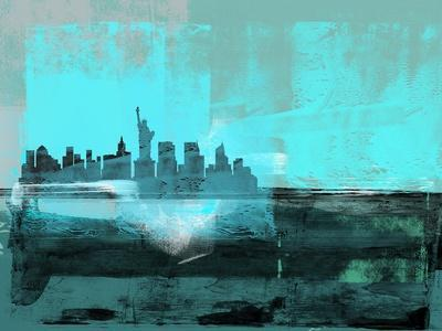 New York Abstract Skyline I