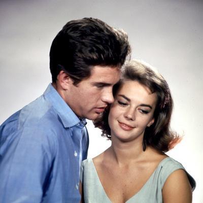 American Actors Warren Beatty and Natalie Wood in their Film 'Splendor in the Grass', 1961