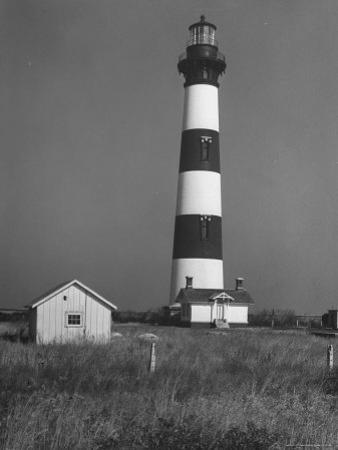Bodie Island Light House, 6 Miles South of Nag's Head by Eliot Elisofon