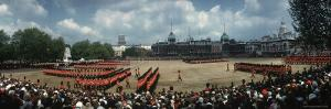 Celebrating the Queen's Official Birthday, on the Horse Guards Parade Ground Near Whitehall by Eliot Elisofon