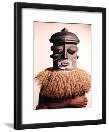 Dance Masks Used by the Bushonogo Tribe in the Belgian Congo