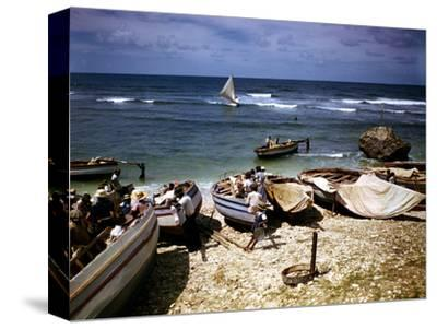 December 1946: a Fishing Fleet at Bathsheba, Barbados