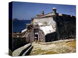 December 1946: El Morro Castle and Morro Lighthouse, Havana Harbor, Cuba by Eliot Elisofon