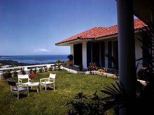 December 1946: Hotel La Citadelle in Port Au Prince, Haiti by Eliot Elisofon