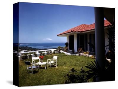December 1946: Hotel La Citadelle in Port Au Prince, Haiti