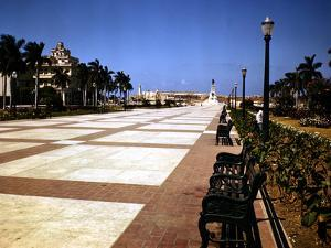 December 1946: Pathway to El Morro Castle in Havana, Cuba by Eliot Elisofon