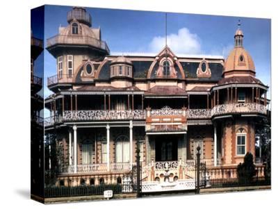December 1946: Victorian House in Port of Spain, Trinidad