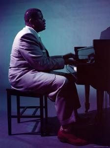 Jazz Pianist Oscar Peterson by Eliot Elisofon