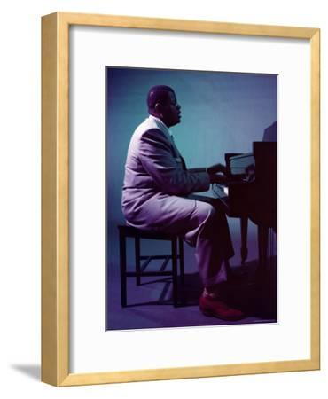 Jazz Pianist Oscar Peterson