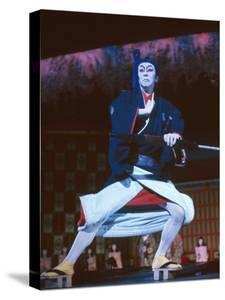 Male Impersonator Ryuko Kawaji at the Kokusai Theater, Tokyo, Japan, 1962 by Eliot Elisofon