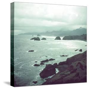Pacific Ocean Along the Coast of Oregon by Eliot Elisofon