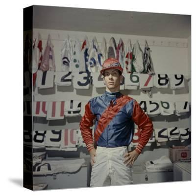Portrait of Jockey Bill Willie Hartack Jr. 1955