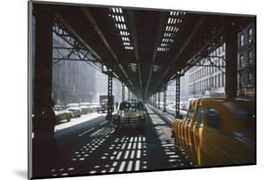 Traffic Along Third Avenue, New York, New York, 1955 by Eliot Elisofon
