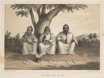 Afternoon Gossip, Lew Chew, 1855