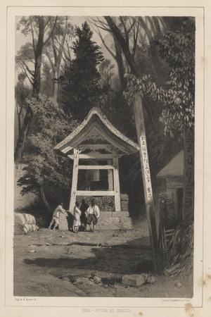 Bell-House at Simoda, 1855