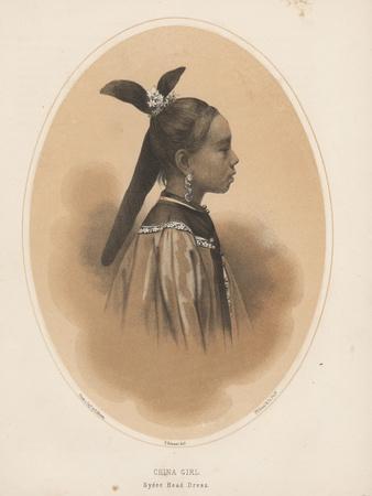 China Girl, Sycee Head Dress, 1855