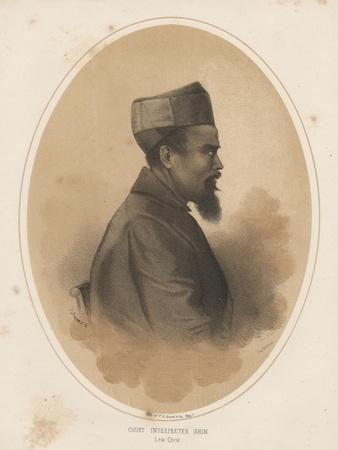 Court Interpreter Shin, 1855