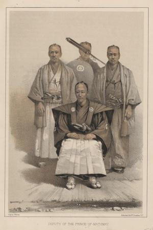 Deputy of the Prince of Matsmay, 1885