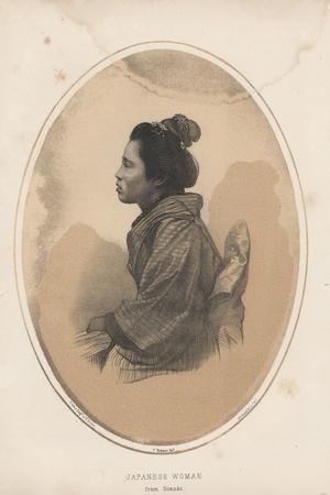 Japanese Woman from Simoda, 1855