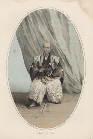 Prince of Idzu, 1855