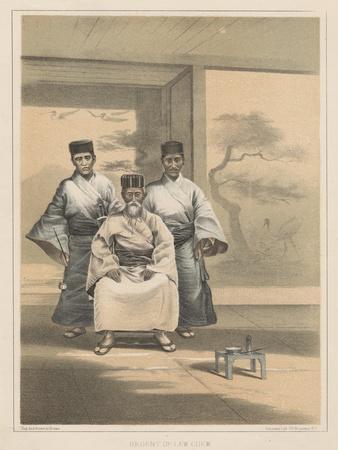 Regent of Lew Chew, 1855