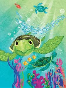 A Sea Turtle Rescue - Jack & Jill by Elisa Chavarri