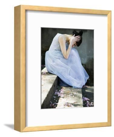 Woman Wearing Dress Looking Down